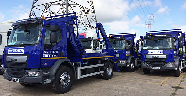 McGrath Skip Trucks